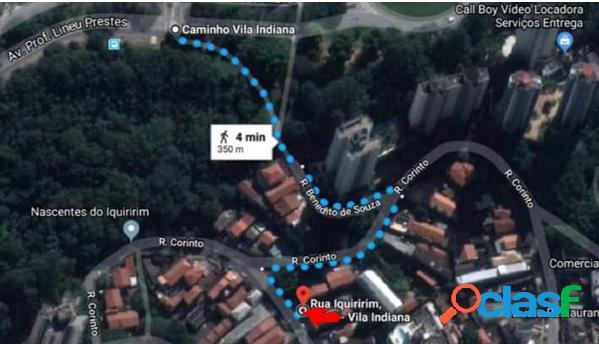 Terreno 417 m² em frente à Usp - Terreno a Venda no bairro Vila Indiana - São Paulo, SP - Ref.: DE26178