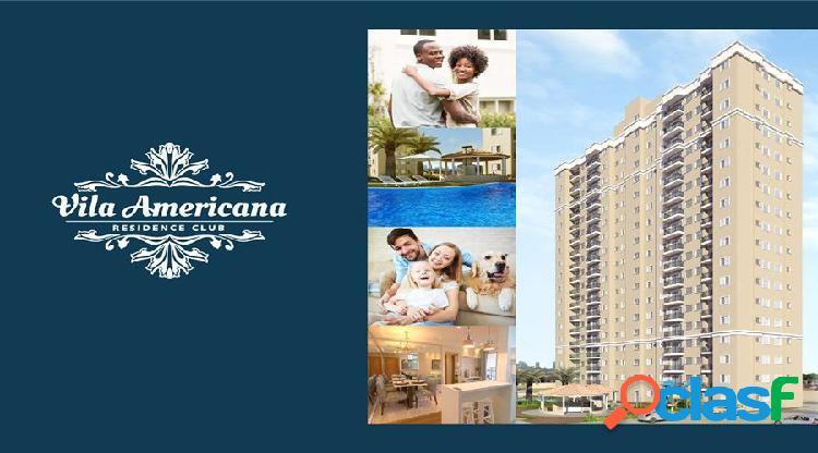 Residencial vila americana - apartamento a venda no bairro cariobinha - americana, sp - ref.: ro98497