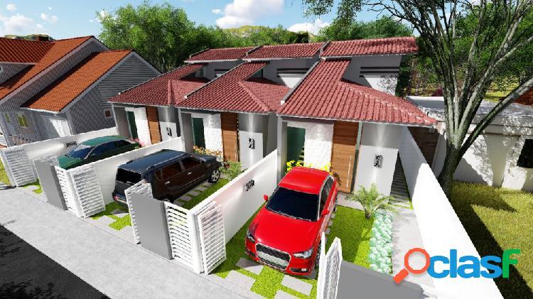 Casas 2 quartos - r$ 160 mil - casa a venda no bairro rio vermelho - florianópolis, sc - ref.: da141
