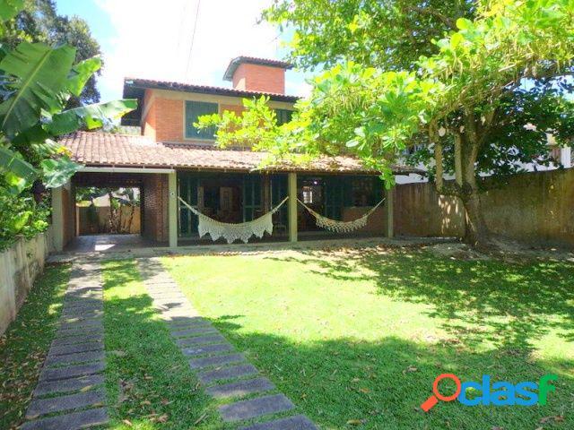 Casa a 40 metros do mar - casa para temporada no bairro cachoeira do bom jesus - florianópolis, sc - ref.: da098