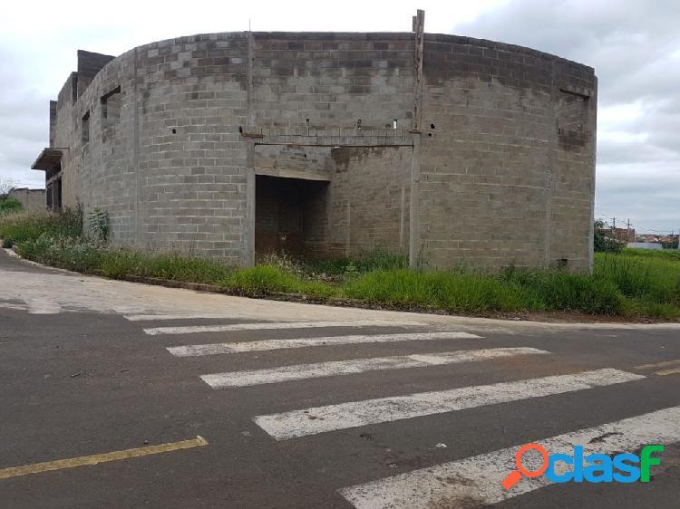 Barracão residencial rossetti - galpão a venda no bairro parque residencial rossetti - cosmópolis, sp - ref.: mv87326