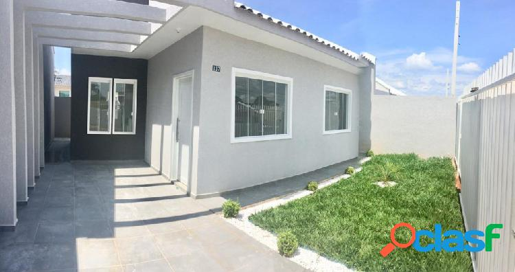 Casa 3 quartos bairro iguaçu - casa a venda no bairro iguaçu - fazenda rio grande, pr - ref.: godoi-rio-pequeno