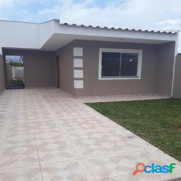 Casa 3 quartos bairro nações - casa a venda no bairro nações - fazenda rio grande, pr - ref.: godoi-curacao