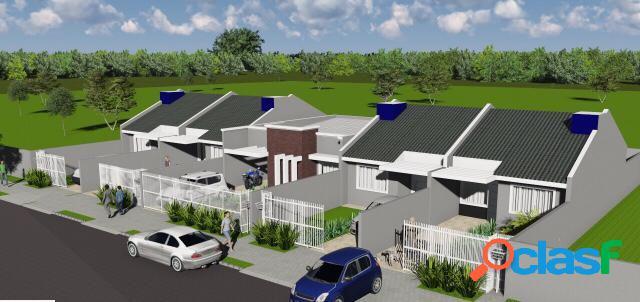 Casa 3 quartos em fazenda rio grande - casa a venda no bairro santa terezinha - fazenda rio grande, pr - ref.: godoi-edifika