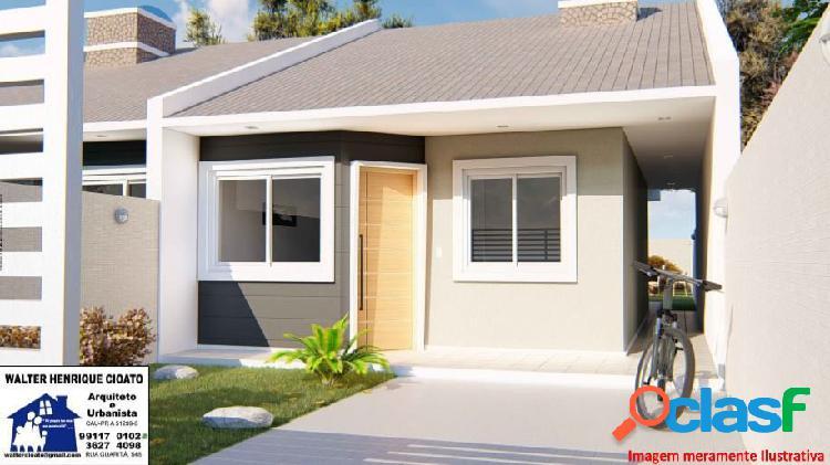 Casa 3 quartos no gralha azul - casa a venda no bairro gralha azul - fazenda rio grande, pr - ref.: re30210