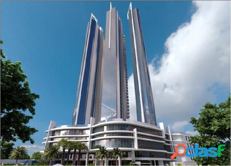 Edifício ibiza tower - apartamento duplex a venda no bairro centro - balneário camboriú, sc - ref.: bc0001