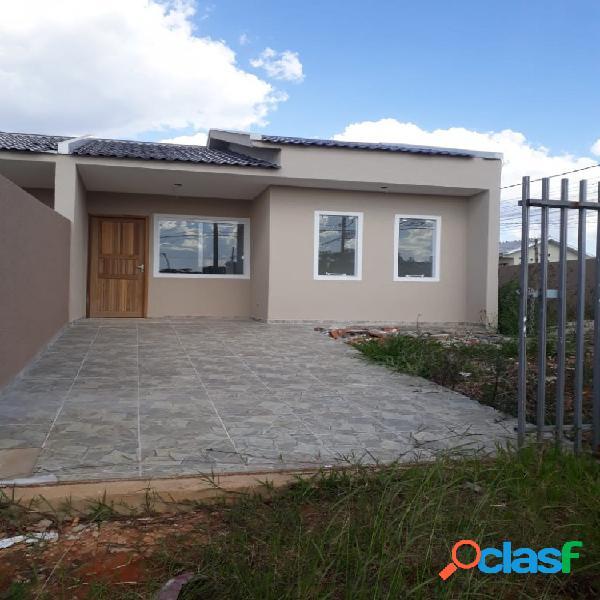Imóvel de esquina iguaçu - casa a venda no bairro iguaçu - fazenda rio grande, pr - ref.: re25738