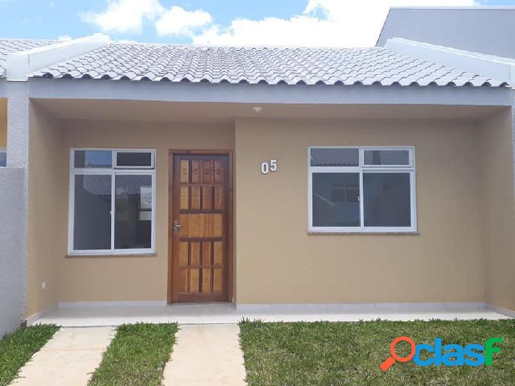 Casa 2 quartos no bairro estados - casa em condomínio a venda no bairro estados - fazenda rio grande, pr - ref.: re67639