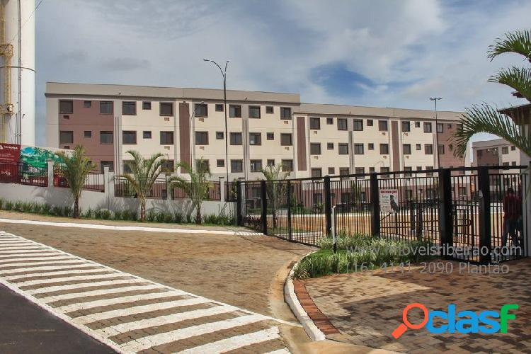 Apartamento a venda no bairro jardim josé wilson toni - ribeirão preto, sp - ref.: apa-1003