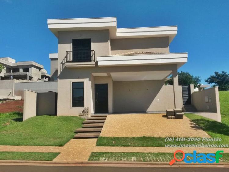 Casa em condomínio a venda no bairro alphaville i - bonfim paulista (ribeirão preto), sp - ref.: cas-1019