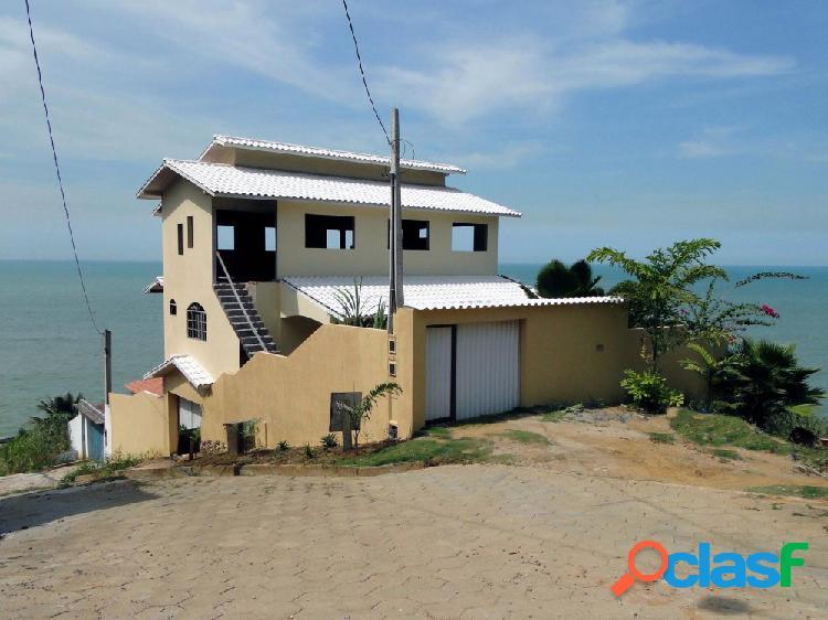 Casa com vista panorâmica - Casa Duplex a Venda no bairro Portinho - Piúma, ES - Ref.: 169