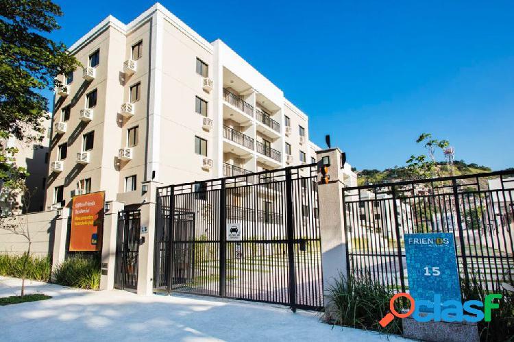 Friends residencial clube - apartamento a venda no bairro andaraí - rio de janeiro, rj - ref.: rz88924