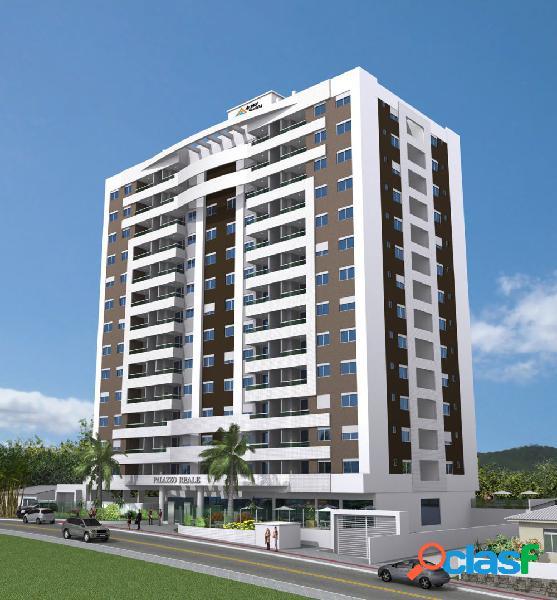 Residencial palazzo reale - apartamento a venda no bairro barreiros - florianópolis, sc - ref.: pi89169