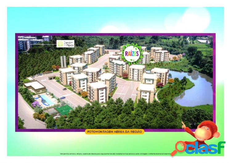 Residencial raízes eco clube - apartamento a venda no bairro vila monte serrat, - cotia, sp - ref.: rf302019