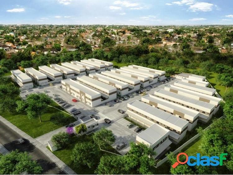 Residencial villa vitória - sobrados de 50m² e 65m² - sobrado a venda no bairro chácara real - cotia, sp - ref.: rf722016