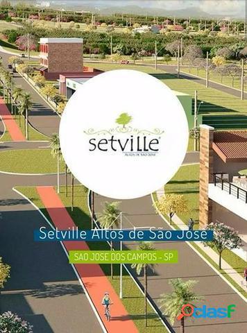 Terreno a venda no bairro set ville - são josé dos campos, sp - ref.: gi96466
