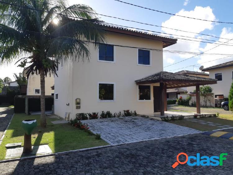 ALUGUEL VILA VERDE - Casa em Condomínio para Aluguel no bairro Vilas do Atlantico - Lauro de Freitas, BA - Ref.: COD04610