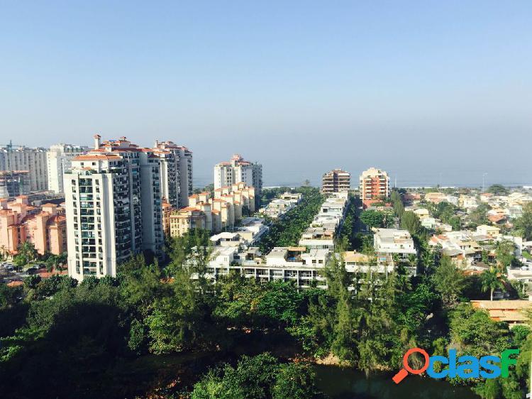 Vista livre sol da manhã - apartamento a venda no bairro barra da tijuca - rio de janeiro, rj - ref.: jacan1906