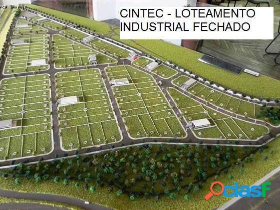 Terreno em condomínio a venda no bairro centro industrial e tecnologico - santa bárbara d'oeste, sp - ref.: te64427