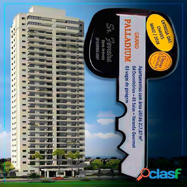 Apartamento - edifício grand palladium - apartamento alto padrão a venda no bairro cidade nova - franca, sp - ref.: apt-001