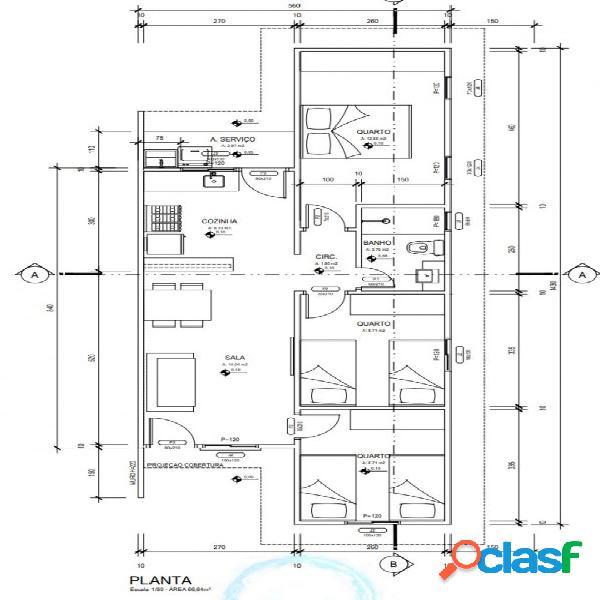 Casas a venda 3 dormitórios - casa a venda no bairro santa rafaela - montes claros, mg - ref.: ca0011
