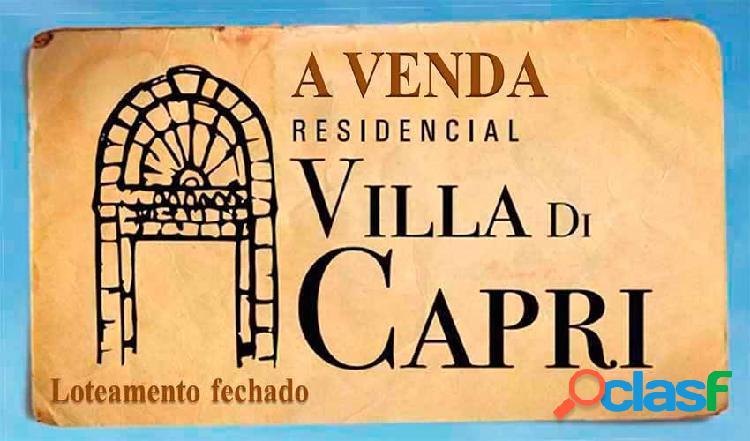 Residencial villa di capri - terreno em condomínio a venda no bairro parque universitário - franca, sp - ref.: ter-001
