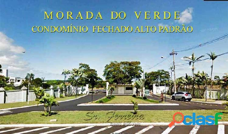 Terreno em condomínio alto padrão - terreno em condomínio a venda no bairro condomínio morada do verde - franca, sp - ref.: te-001