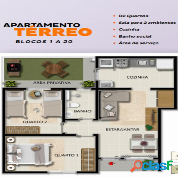 Villa bella turim - apartamento a venda no bairro santa rafaela - montes claros, mg - ref.: ap012