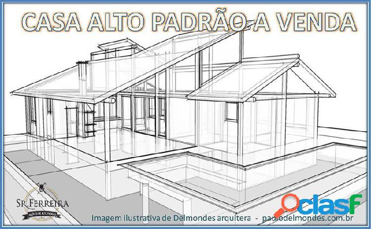 Casa alto padrão em franca-sp - casa alto padrão a venda no bairro village são vicente - franca, sp - ref.: cas-004