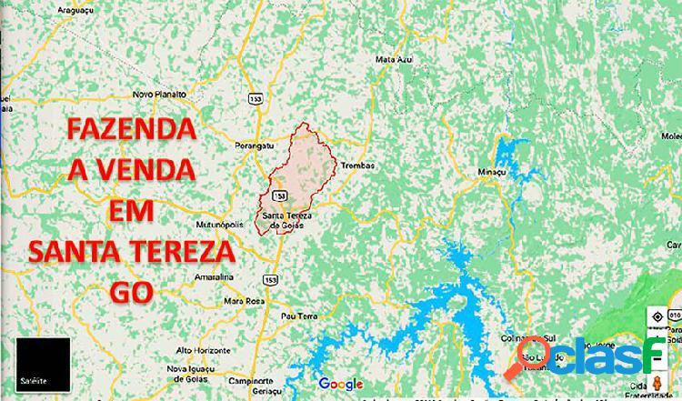 Fazenda a venda em goiás - santa tereza de goias - fazenda a venda no bairro rural - santa tereza de goiás, go - ref.: faz-013