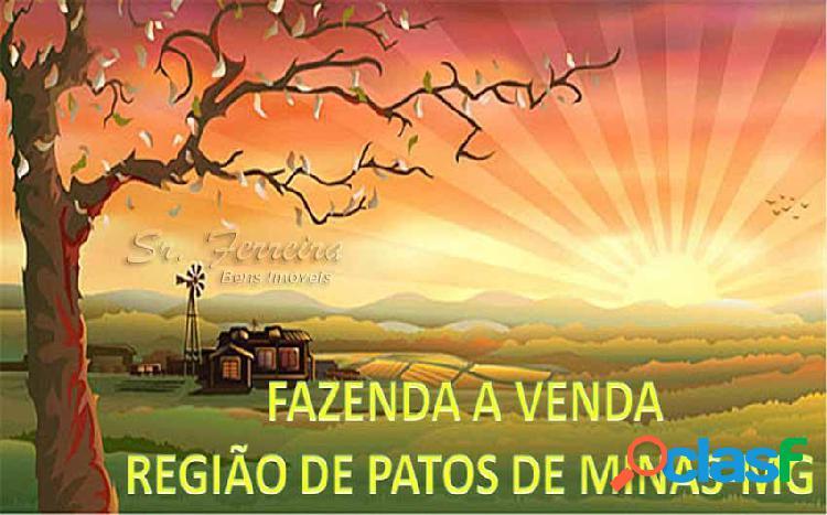 Fazenda pecuária a venda varjão de minas - fazenda a venda no bairro rural - varjão de minas, mg - ref.: faz-007