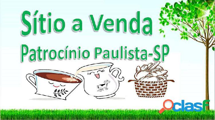 Sitio café e gado a venda em patrocínio paulista-sp - sítio a venda no bairro rural - patrocínio paulista, sp - ref.: sit-006
