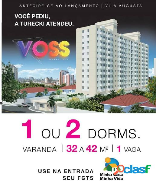 Voss vila augusta - apartamento a venda no bairro vila augusta - guarulhos, sp - ref.: co45020