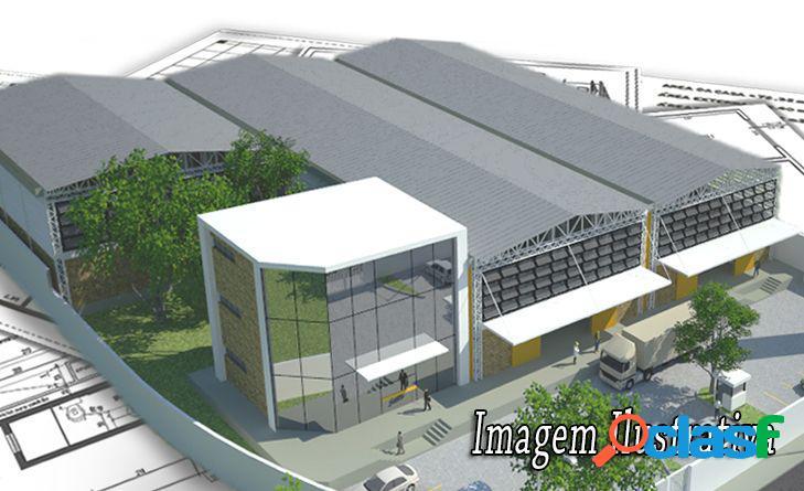 Pavilhões para Aluguel - Pavilhão para Aluguel no bairro Areal - Pelotas, RS - Ref.: CRL006