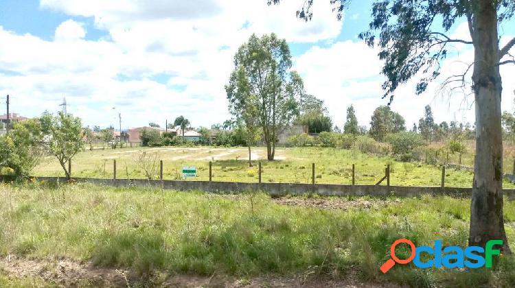 Terreno de frente e esquina à br 293 - terreno a venda no bairro parque fragata - capão do leão, rs - ref.: tr024