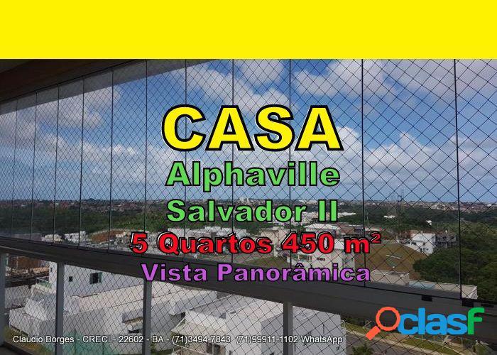 Alphaville salvador 2 - casa em condomínio a venda no bairro alphaville ii - salvador, ba - ref.: ca520001