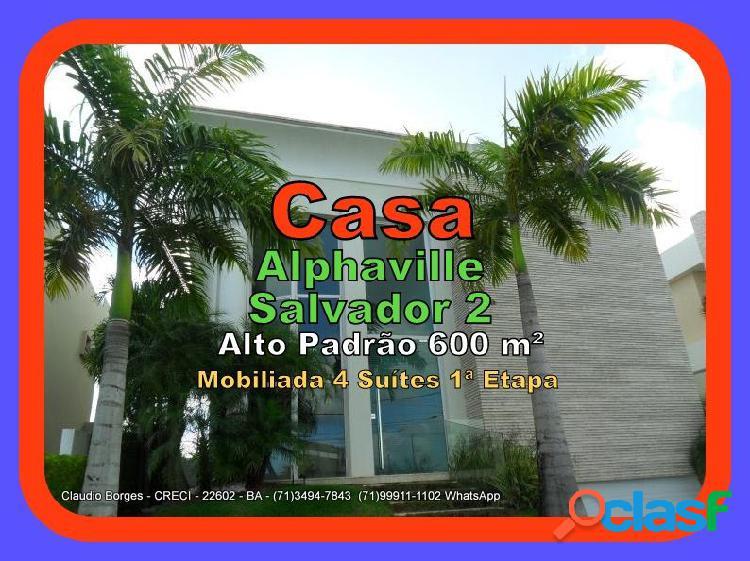 Alphavile salvador 2 - casa em condomínio a venda no bairro alphaville ii - salvador, ba - ref.: ca420008