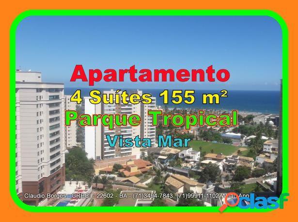 Parque tropical - apartamento alto padrão a venda no bairro pituaçu - salvador, ba - ref.: ap470068