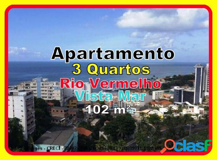 Residencial maria carmen villas boas - apartamento a venda no bairro rio vermelho - salvador, ba - ref.: ap360160