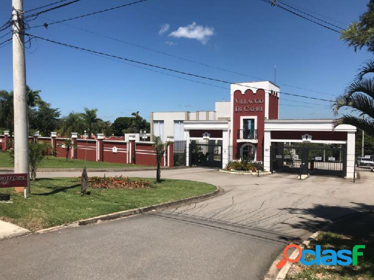 Terreno em condomínio a venda no bairro chácaras residenciais santa maria - votorantim, sp - ref.: tec004