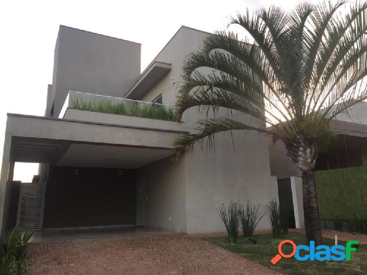Casa em condominio - casa alto padrão a venda no bairro buona vita - bonfim paulista (ribeirão preto), sp - ref.: at60696