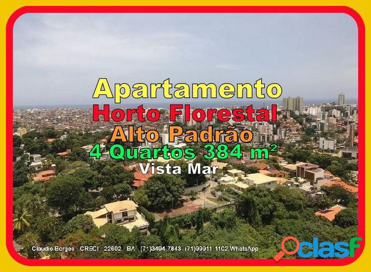 Apartamento alto padrão a venda no bairro horto florestal - salvador, ba - ref.: ap430055