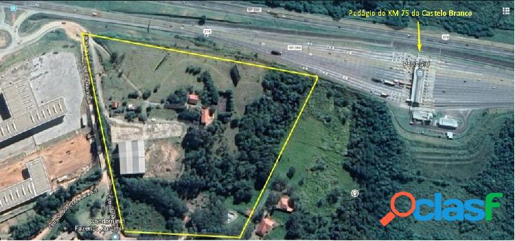 Área comercial 58.000m² com galpão - km 75 castelo - itu/sp - terreno a venda no bairro city castello - itu, sp - ref.: ar46387
