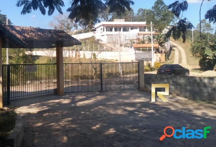 Terreno de 1600m² em condominio fechado mairinque/sp - terreno em condomínio a venda no bairro mato dentro - mairinque, sp - ref.: rm60186