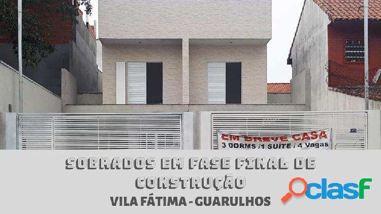 Sobrado vila fátima - sobrado a venda no bairro vila nossa senhora de fátima - guarulhos, sp - ref.: ec01405