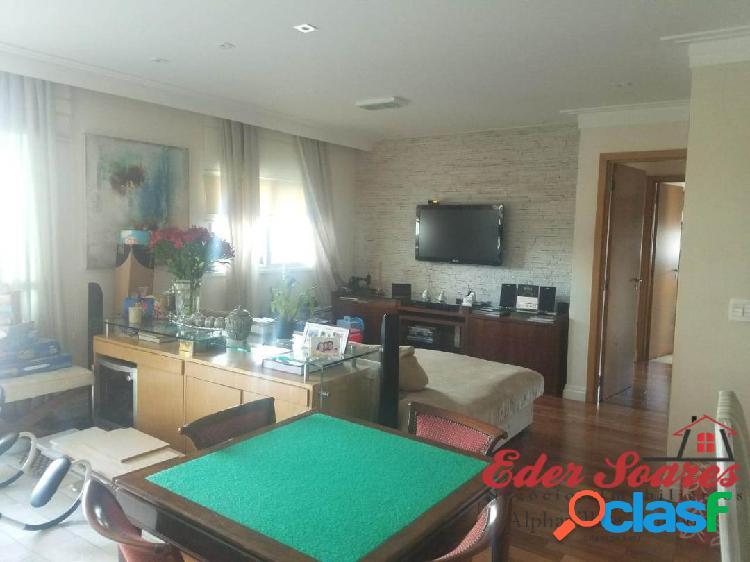 Apartamento mobiliado de 113m² á venda no resort tamboré