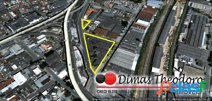 Vende área ipiranga - 11.000m² - c/ galpões antigos