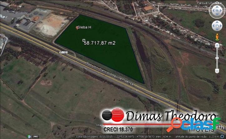 Área comercial/industrial nobre campinas 58.000 m²