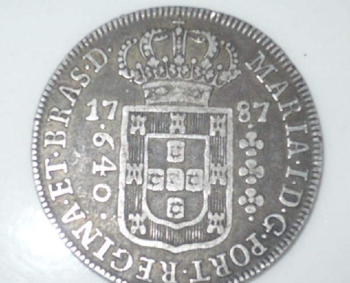 Compro moedas de prata entre 1.643 a 1849 pago r$100,00 cada