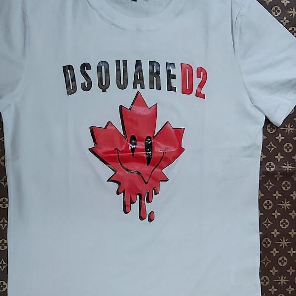 Camiseta dsquared2 manga curta branca